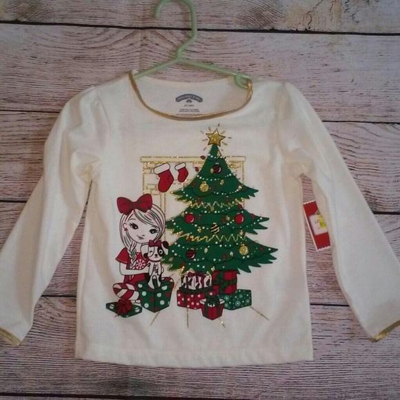 5dc78dc70 Holiday Time Shirts & Tops | Girls Christmas Shirt 2t | Poshmark